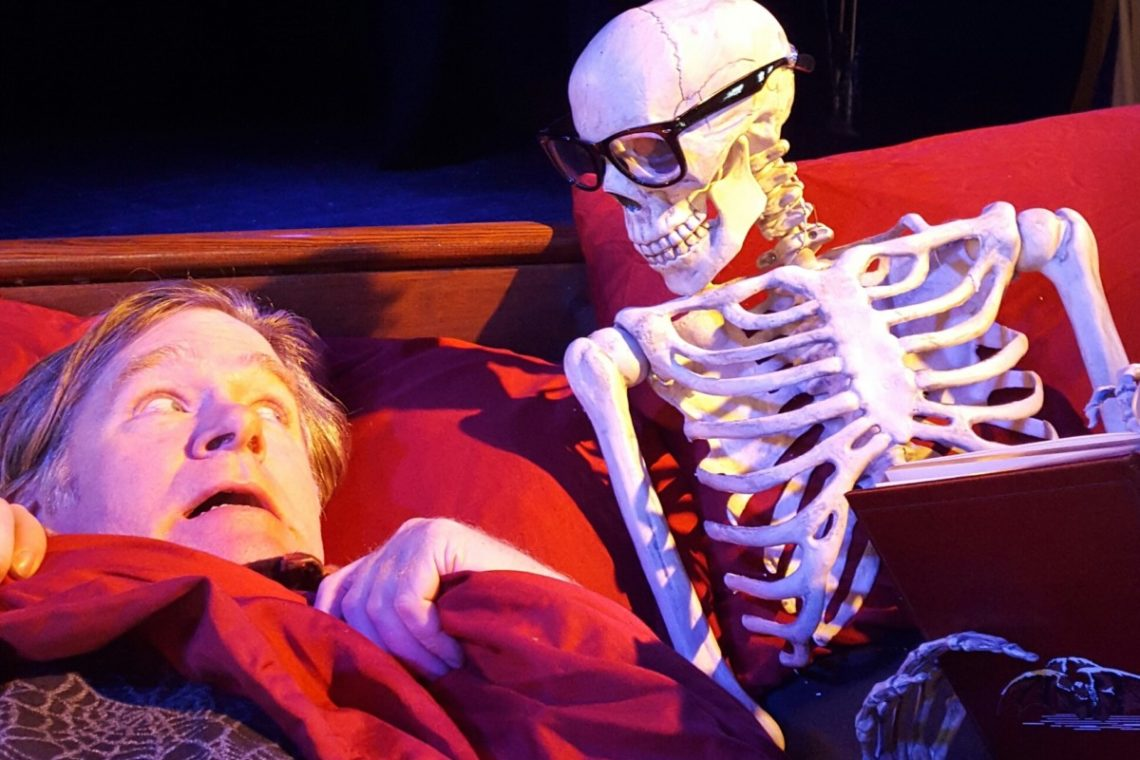 Halloween Scary Readings & Community Potluck