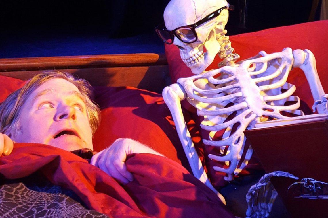 Halloween Scary Readings & Potluck